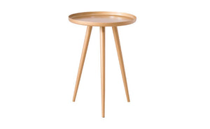 Gold Three Legged Nightstand