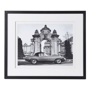 Vintage Car Framed Photograph