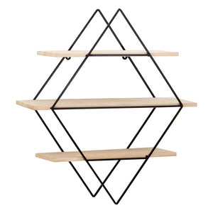 Diamond Frame Tiered Book Shelves