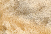 Acacia Honey 20 mm blond gold, dense, mohair for teddy bears with a slight swirl in the pile and a beige backing