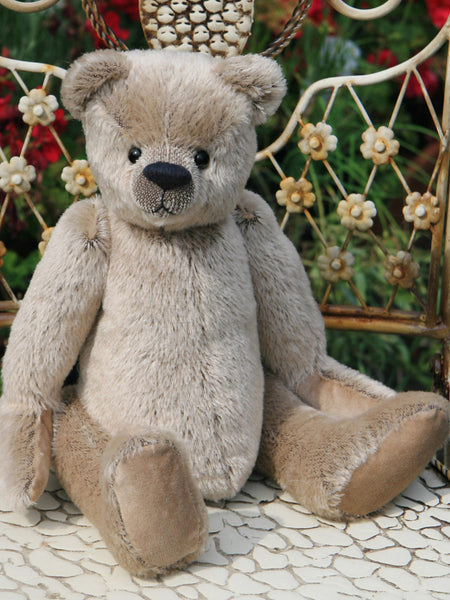 Frederick Mohair Teddy Bear Kit by Make A Teddy (without stuffing)