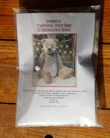Frederick Mohair Teddy Bear Kit by Make A Teddy with stuffing and pellets