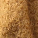 New Weetabix is a gorgeous antique gold mohair, it has a wonderful wild and scruffy ratinee texture. It's a great for making scruffy fluffy little bears or medium and large traditional teddy bears, it's a proper 'teddy bear' colour.