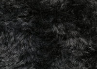 Pickled Walnut 24 mm black dense distressed mohair for teddy bears and pandas Pickled Walnut is a beautiful, dense, distressed black mohair with a slightly paler backcloth, there isn't a great deal of difference in the darkness of the fur and the backcloth but just enough for a black nose and mouth to be visible on the teddy bear's face. It's a great colour and texture for medium and large traditional teddy bears and particularly pandas especially when coupled with our Pickled Walnut mohair.