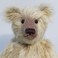Sven by Barbara Ann Bears in Wholemeal Spaghetti mohair by Make A Teddy