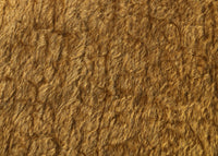 Warm Cinnamon mohair has a wonderful antique gold, distressed. The mohair has an old or vintage feel, It's a great colour for smaller traditional teddy bears, or larger bears that you want to look old and loved.