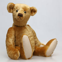 Hubert printed sewing pattern for a traditional jointed 19 inch teddy bear by Barbara-Ann Bears