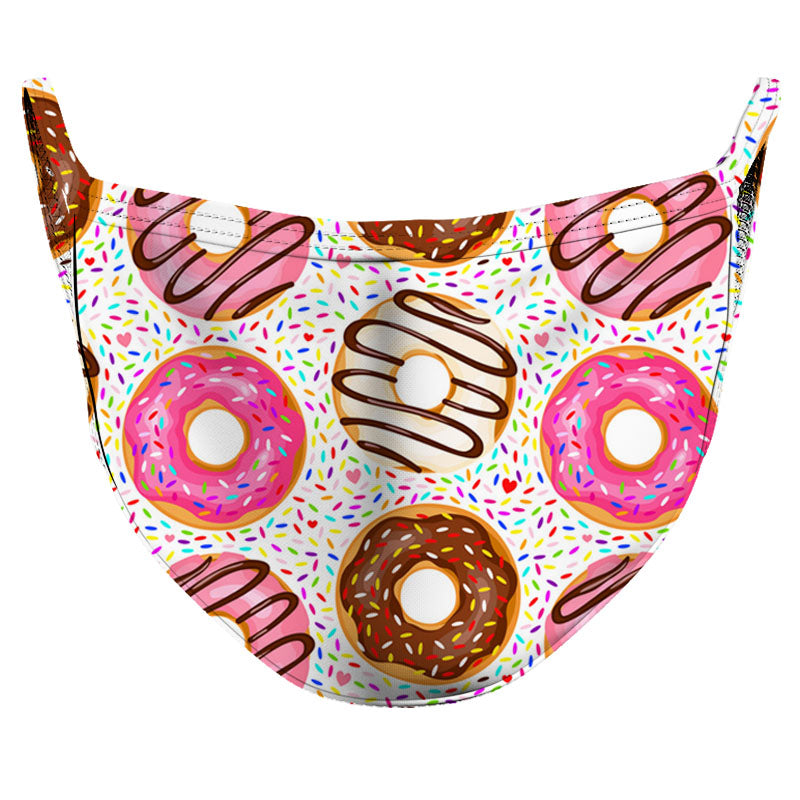 Want a Doughnut_ Reusable Double Layer Cloth Face Mask and Covering