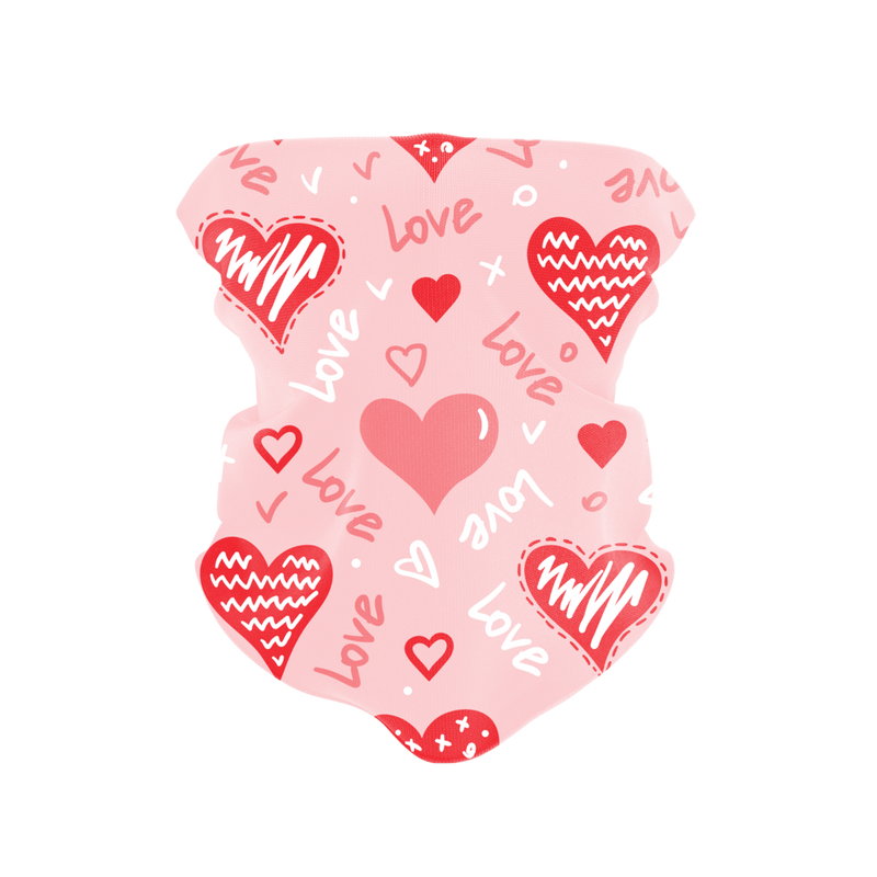 Love is Love is Love Reusable Neck Gaiter and Face Shield