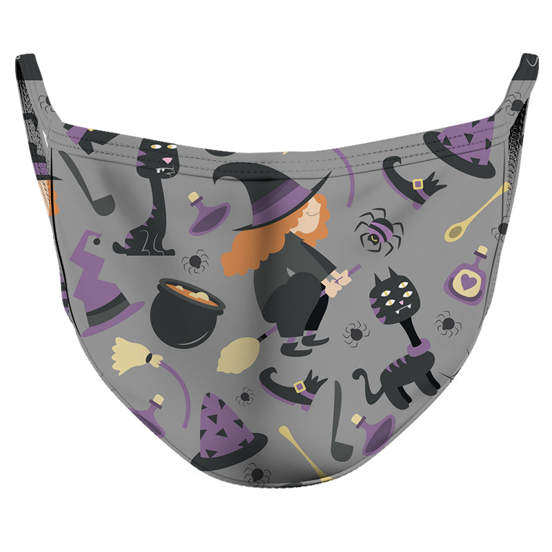 A Witches' Home Reusable Double Layer Cloth Face Mask and Covering