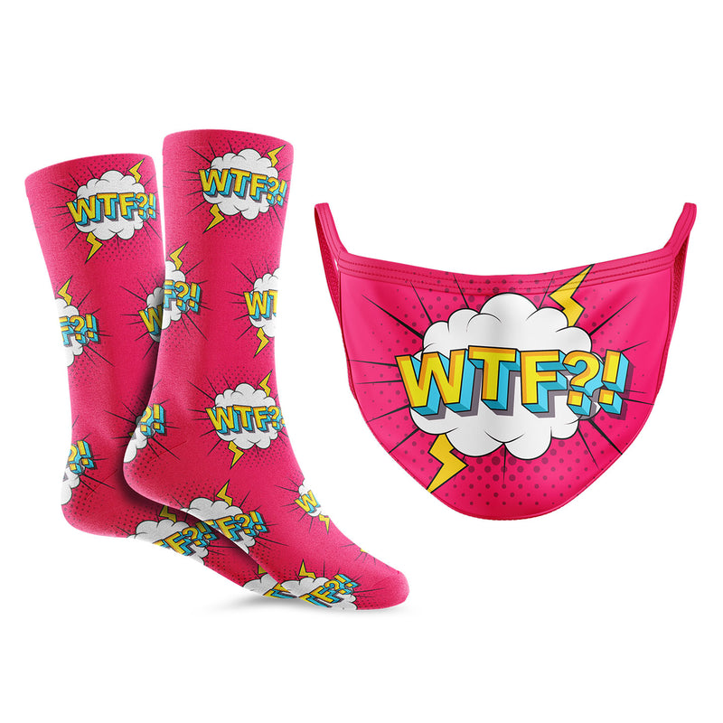 WTF? Mask/Sock Bundle - Crew