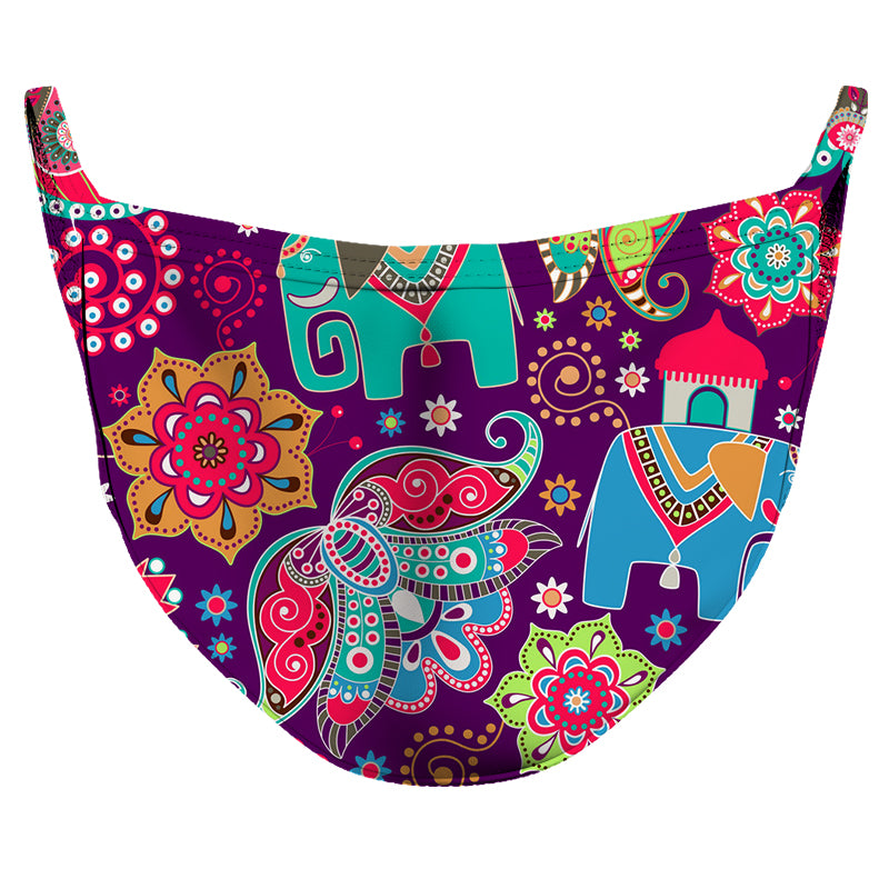 Beautiful Culture Reusable Double Layer Cloth Face Mask and Covering