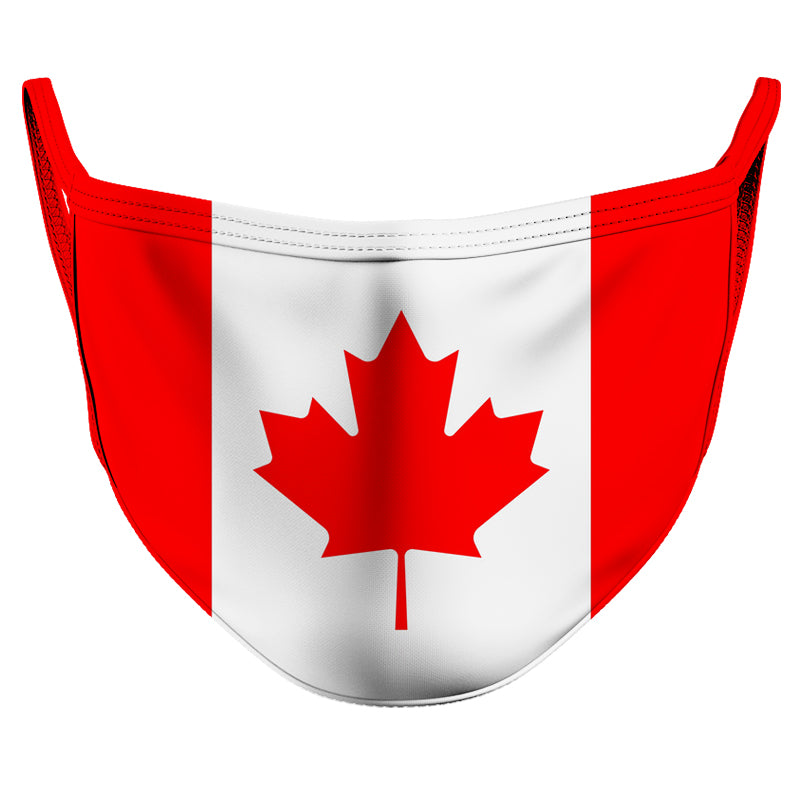 Canada Reusable Double Layer Cloth Face Mask and Covering