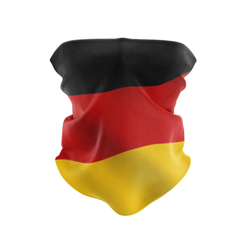 Germany Gaiter Reusable Neck Gaiter and Face Shield