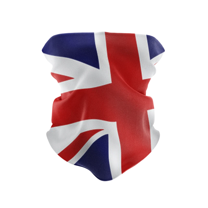 Great Britain Gaiter Reusable Neck Gaiter and Face Shield