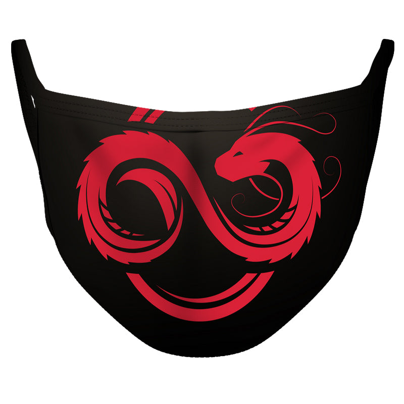 Infinity Dragon Reusable Double Layer Cloth Face Mask and Covering