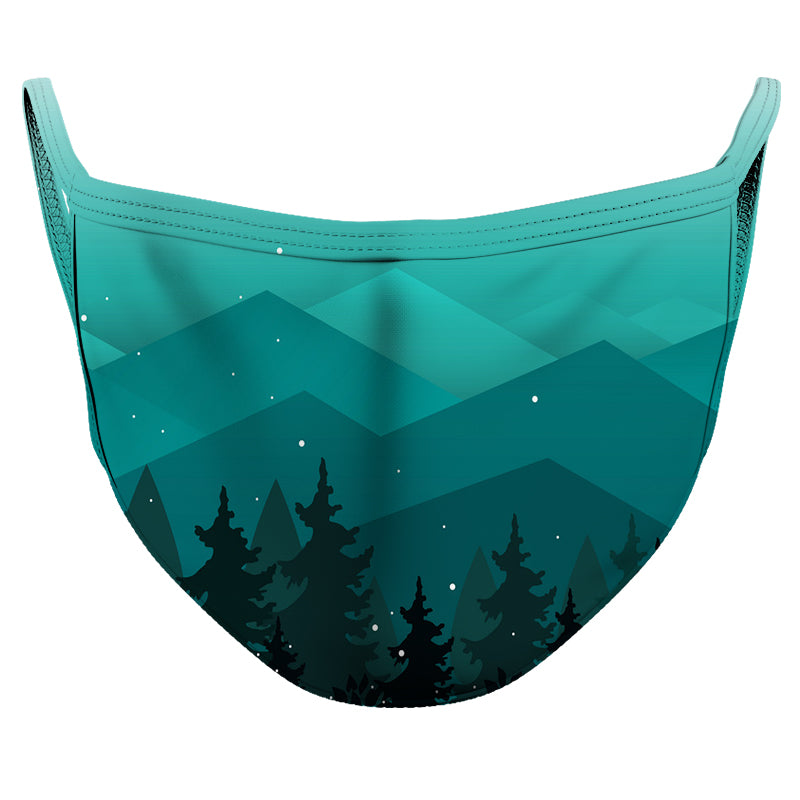 Magical Night Reusable Double Layer Cloth Face Mask and Covering