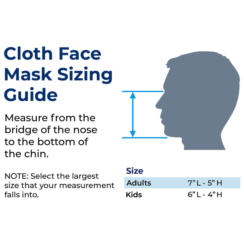 GO! Reusable Double Layer Cloth Face Mask and Covering