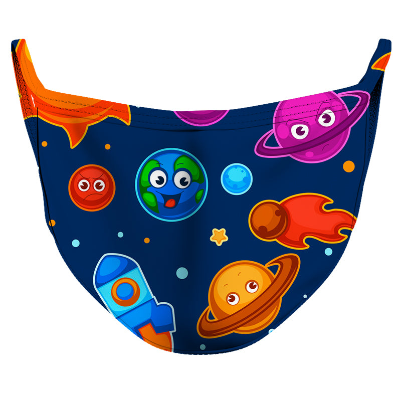 Solar System Reusable Double Layer Cloth Face Mask and Covering