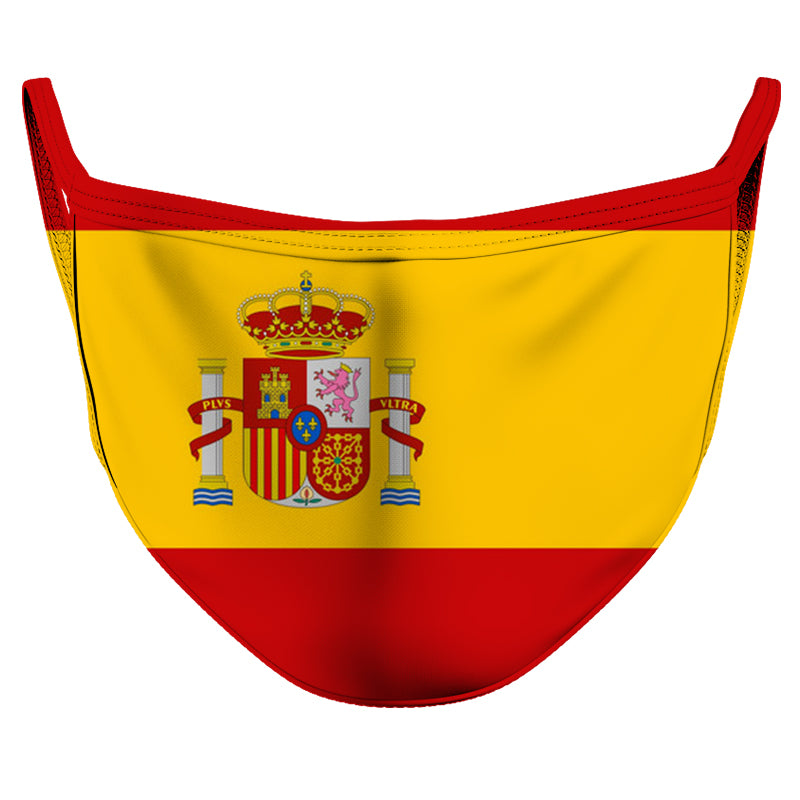 Spain Reusable Double Layer Cloth Face Mask and Covering
