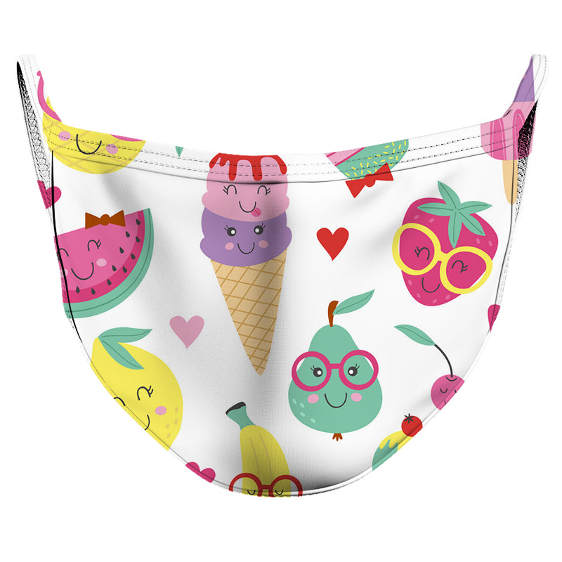 Sweet Tooth Reusable Double Layer Cloth Face Mask and Covering