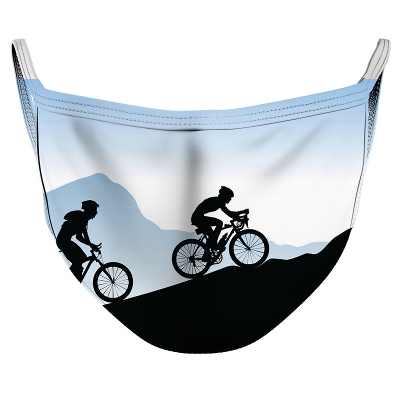Up the Mountain! Reusable Double Layer Cloth Face Mask and Covering