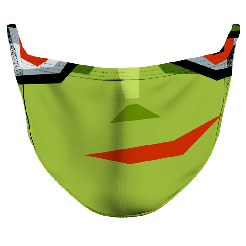 Happy Monster Reusable Double Layer Cloth Face Mask and Covering