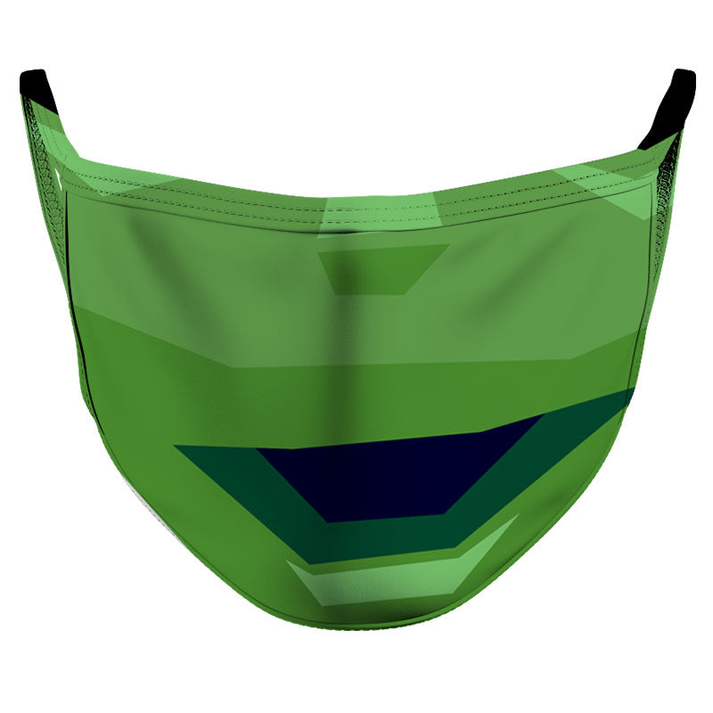 Green Smile Reusable Double Layer Cloth Face Mask and Covering