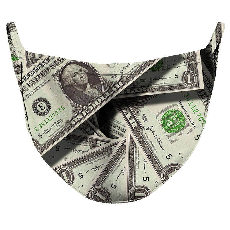 Make it Rain Reusable Double Layer Cloth Face Mask and Covering