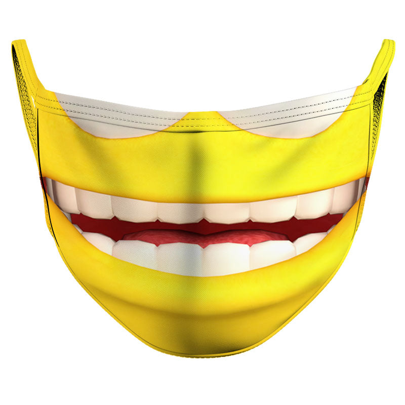 Say...Cheese! Reusable Double Layer Cloth Face Mask and Covering