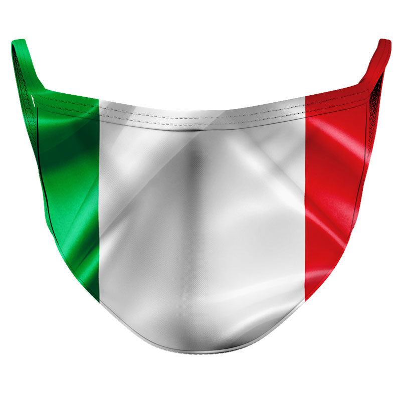 Italy Reusable Double Layer Cloth Face Mask and Covering