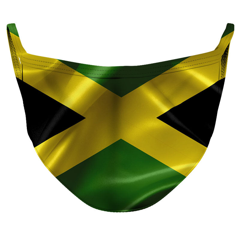 Jamaica Reusable Double Layer Cloth Face Mask and Covering