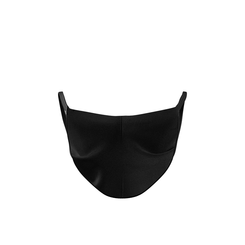 Black Reusable 3-Pack Double Layer Cloth Face Mask and Covering