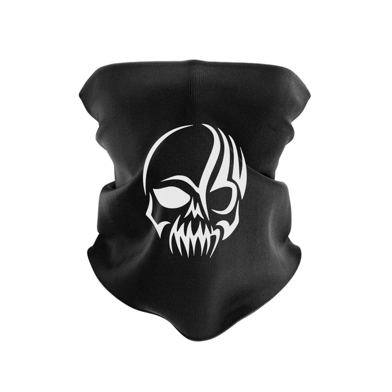 Skull Reusable Neck Gaiter and Face Shield