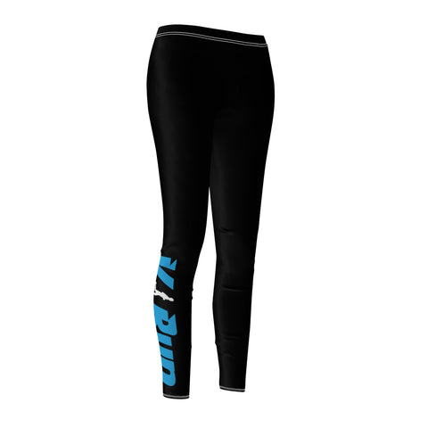 Women's Black Lightweight Run Leggings