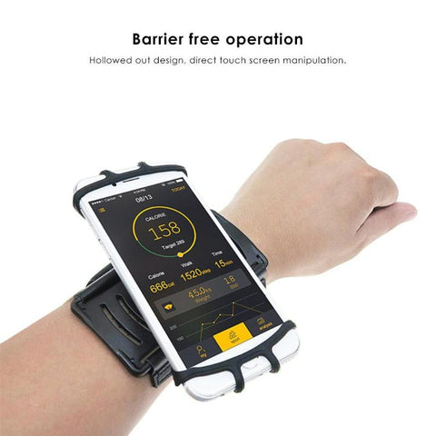 Running Creative Wristband 180 Degree Camping Rotatable Bag Belt Wrist Strap Phone Holder Outdoor Equipment Multi tool