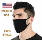 3ply cotton fabric mask