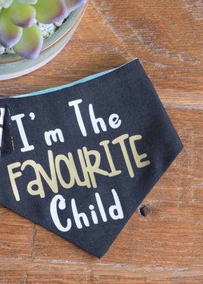 'Favourite Child' Bandana - Reversible.