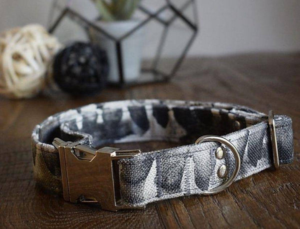 Handmade Collar | Fade To Grey - Parkgate Paws
