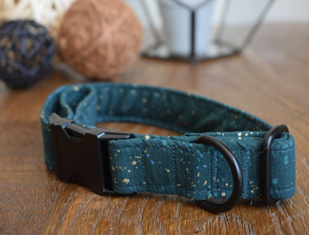 'Greensleeves' Handmade Dog Collar. - Parkgate Paws