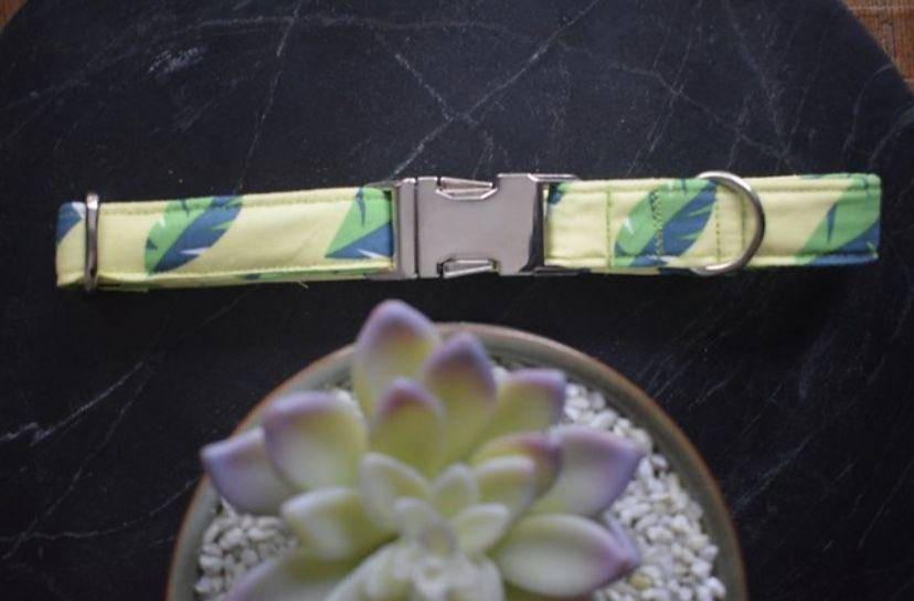 Green Handmade Collar