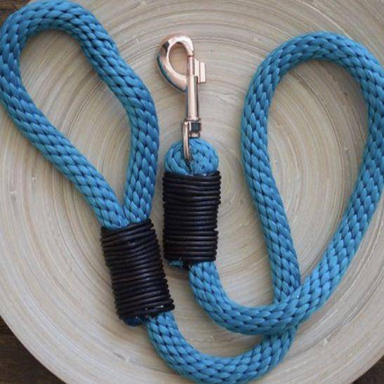 Rope Dog Lead | Rose Gold