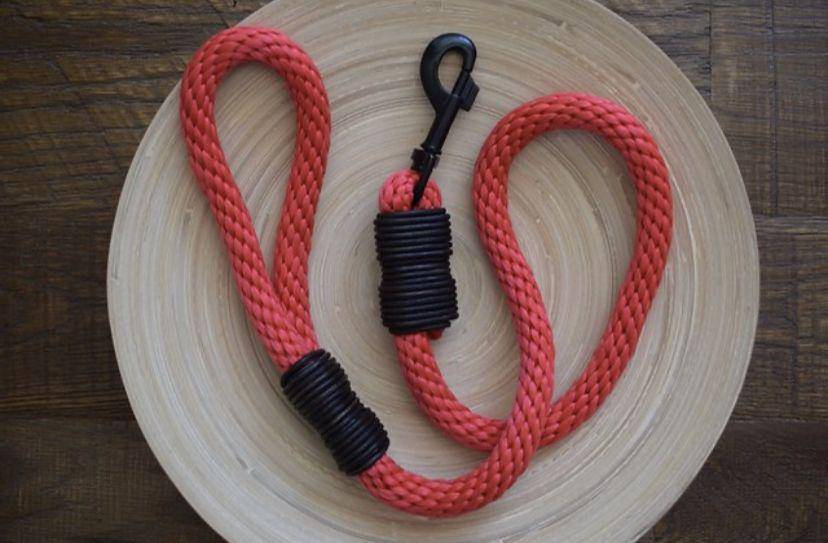 Rope Dog Lead | Red