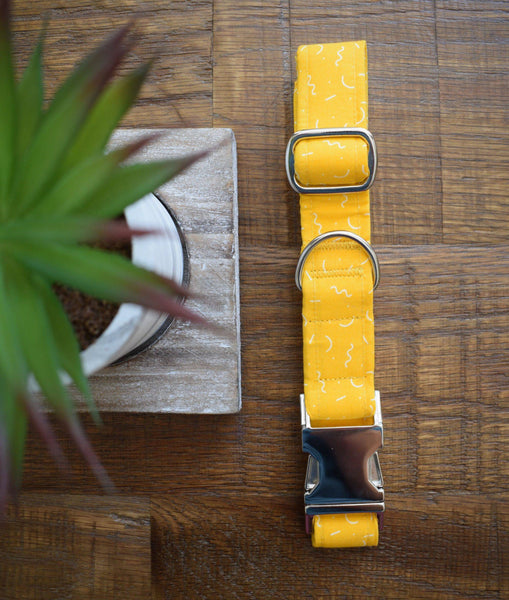 Handmade Collar | Yellow Submarine - Parkgate Paws