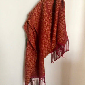 Handwoven Tencel Shawl