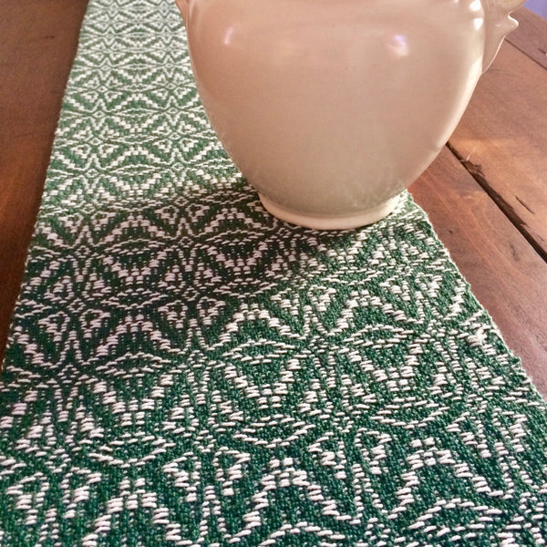 Handwoven Cotton Table Runner