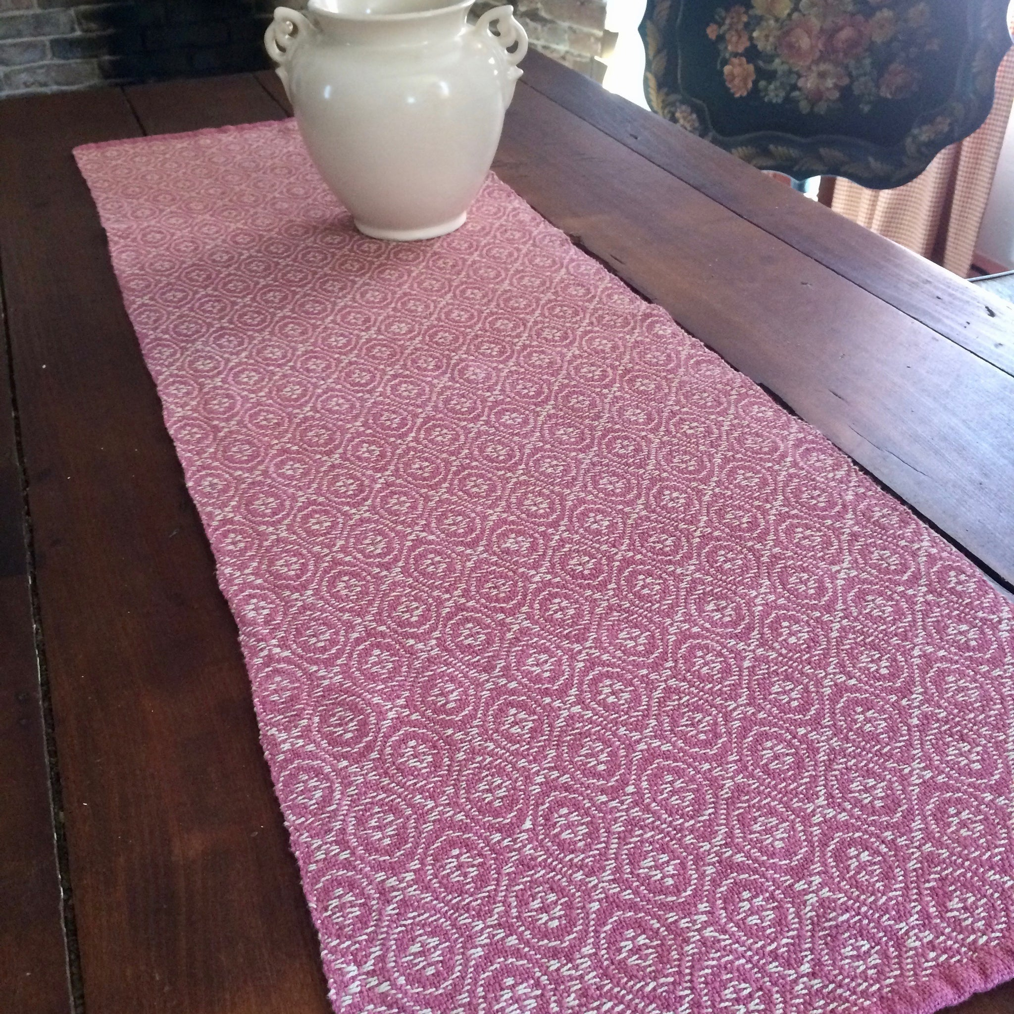 Handwoven Cottolin Table Runner