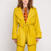 Theia Jacket in Mustard Yellow