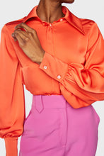 Load image into Gallery viewer, Florence Blouse Blood Orange