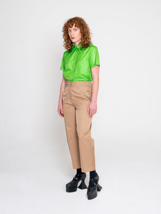 Berlin Shirt Parakeet Green